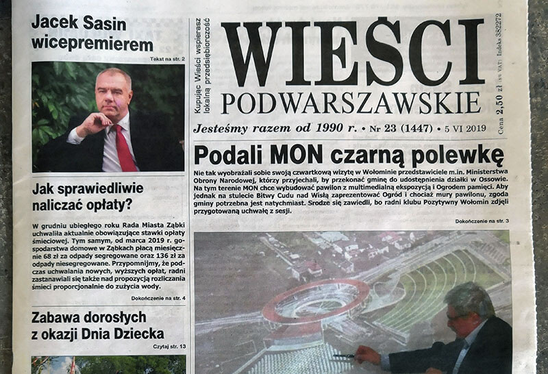 Wieści Podwarszawskie 23 (1447)