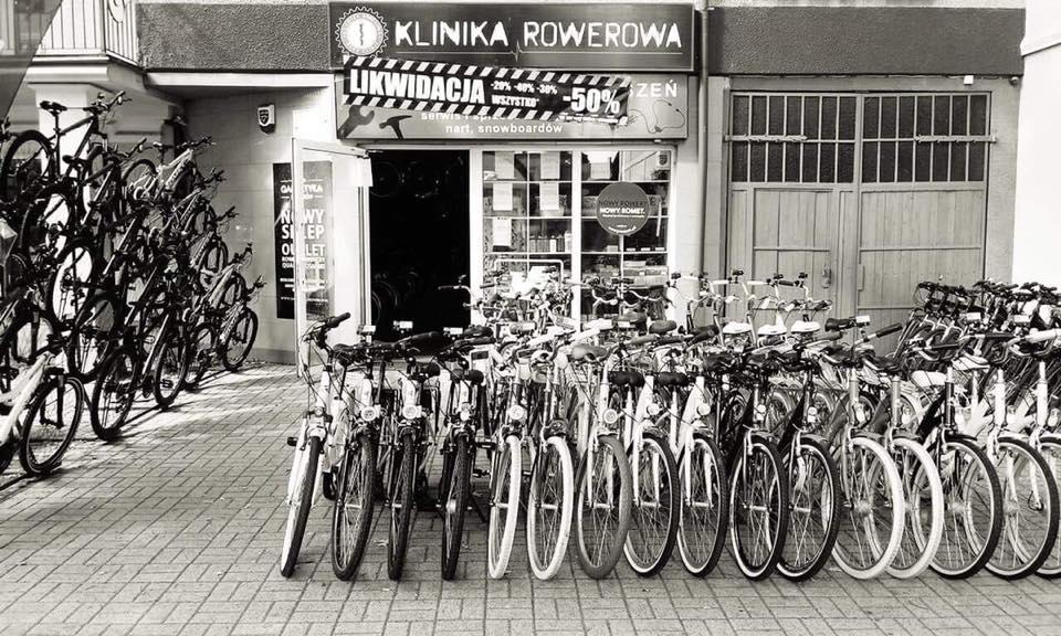 Wyprzedaż w Klinice Rowerowej w Wołominie. Likwidacja sklepu