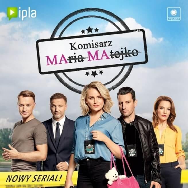 plakat serialu Komisarz Mama